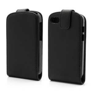Vertical Magnetic Leather Flip Case Cover for BlackBerry Q10