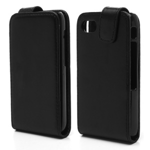 Vertical PU Leather Magnetic Case Cover for BlackBerry Q5
