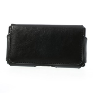 Horizontal Belt Clip Leather Holster Case for Samsung Galaxy S5 G900F G900H G900A G900V