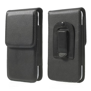 Vertical Leather Holster Case w/ Belt Clip for Samsung Galaxy S5 G900, Size: 14.3 x 7.5 x 1.4cm