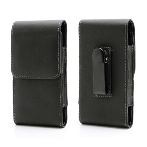 Belt Clip Magnetic Flip Leather Case Holster para Samsung Galaxy S5 G900