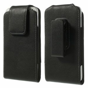 Magnetic Leather Holster Case w/ Swivel Belt Clip for Samsung Galaxy S5 G900, Size: 14.3 x 7.5 x 1.2cm