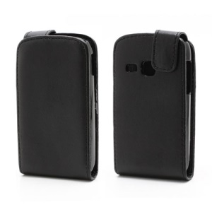 Vertical Magnetic Flip Leather Case for Samsung Galaxy Young S6310