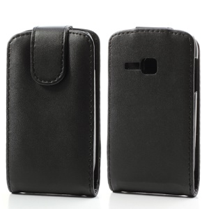 Vertical Leather Flip Cover Case for Samsung Galaxy Young S6310