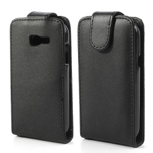 Vertical Flip Classic Leather Case for Samsung Galaxy trend Lite S7390