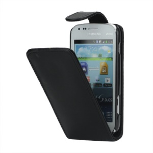 Magnetic Leather Vertical Flip Case for Samsung Galaxy S Duos S7562 S7560 S7560M / Duos 2 S7582 / S7580