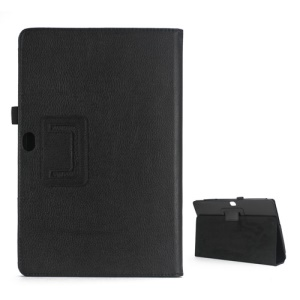 Litchi Leather Case Cover Stand for Microsoft Surface Windows RT - Black