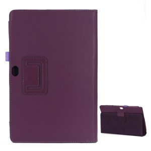 Litchi Leather Case Cover Stand for Microsoft Surface Windows RT - Purple