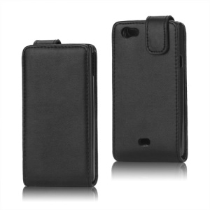PU Leather Vertical Flip Case  for Sony Xperia miro ST23i ST23a
