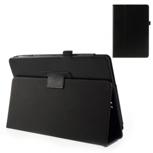 Black Litchi Grain PU Leather Case Stand for ASUS Transformer Book T100 10.1 Tablet