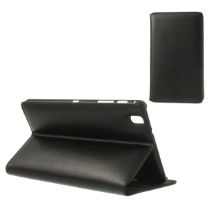 Doormoon Genuine Leather Stand Case for Samsung Galaxy Tab Pro 8.4 T320 T321 T325 - Black