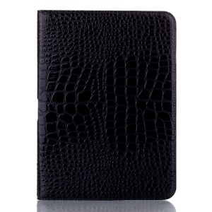 Black Crocodile Leather Folio Stand Cover for Samsung Galaxy Tab 4 10.1 T531 T530 T535