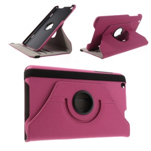 Rose 360 Degree Rotary Cloth Leather Case for LG G Pad 8.3 V500 w/ Stand