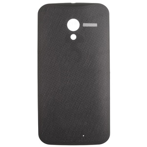 OEM Woven Battery Door Back Housing for Motorola Moto X XT1060 (Verizon) - Black