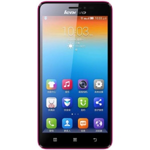 Lenovo S850 Smartphone 5.0 Pouces Android OS 4.2 1G RAM Double SIM Quad Core 3G Bande - Rose
