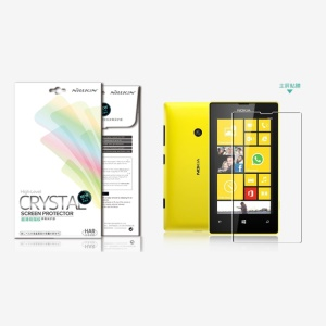 Nillkin Anti-fingerprint Ultra Clear Screen Protective Film for Nokia Lumia 520