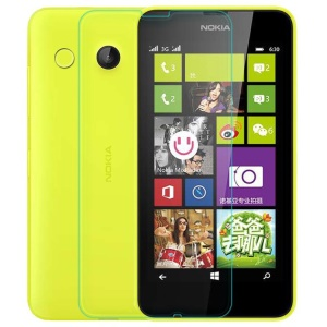 0.3mm Anti-explosion Tempered Glass Screen Guard Film for Nokia Lumia 630 635 (Arc Edge)