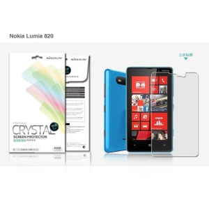 Nillkin Ultra-Clear Anti-fingerprint LCD Screen Protector for Nokia Lumia 820