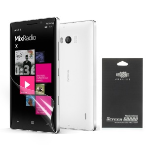 HD Clear Screen Protector for Nokia Lumia 930 / Lumia Icon 929 (Black Package)