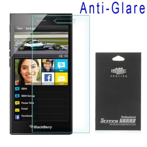Anti-glare Matte LCD Screen Protection Film for BlackBerry Z3 (with Black Package)