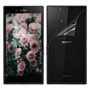 Ultra Clear Front and Back Screen Protector Guard Film for Sony Xperia Z Ultra C6806 C6802 C6833