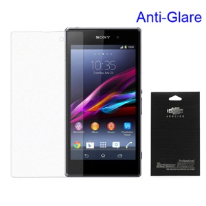 Matte Anti-glare Screen Guard Film for Sony Xperia Z1 Honami C6903 C6902 L39h (with Package)