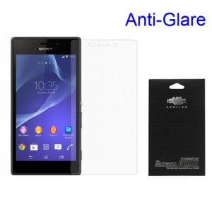 Anti-glare Matte Screen Protective Film for Sony Xperia M2 D2303 / M2 Dual D2302 (with Black Package)