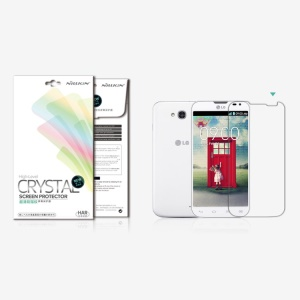 Nillkin Clear Anti-Fingerprint Screen Protector for LG L90 Dual SIM D410