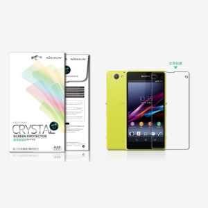 Nillkin Ultra Clear Anti-Fingerprint LCD Screen Protector for Sony Xperia Z1 Compact D5503