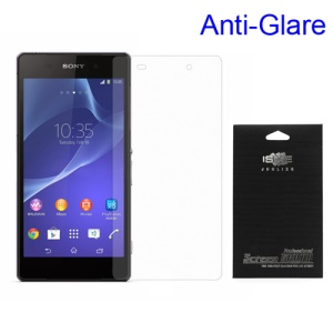 For Sony Xperia Z2 D6502 D6503 D6543 Anti-glare Matte Screen Protector (with Black Package)
