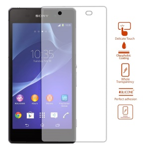 0.3mm 2.5D 9H Explosion-proof Tempered Glass Screen Protector for Sony Xperia Z2 D6502 D6503 D6543 (Arc Edge)