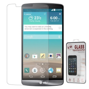 0.26mm 2.5D Anti-explosion Tempered Glass Screen Protector for LG G3 D850 LS990 (Arc Edge)