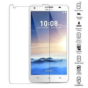 0.3mm 2.15D Anti-explosion Tempered Glass LCD Screen Film for Huawei Honor 3X G750 (Arc Edge)