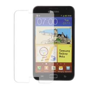 Premium Tempered Glass Screen Protector for Samsung Galaxy Note I9220 GT-N7000 - Transparent
