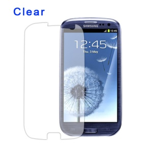 Clear LCD Screen Guard for Samsung GT-I9300 Galaxy S 3 / III