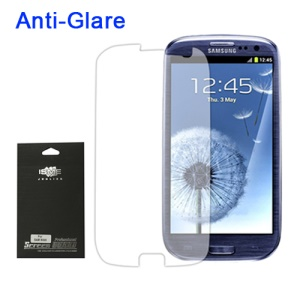 Premium Anti-Glare Screen Guard for Samsung Galaxy S 3 / III I9300 I747 L710 T999 I535 R530