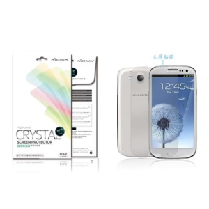 Nillkin Crystal Clear Anti-Fingerprint Screen Protective Film for Samsung Galaxy S 3 / III I9300