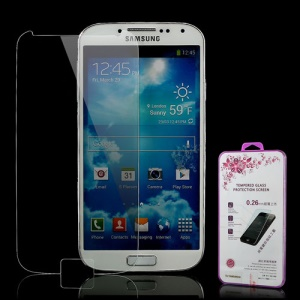 Explosion-proof Tempered Glass LCD Screen Protector for Samsung Galaxy S4 i9500 i9502 i9505