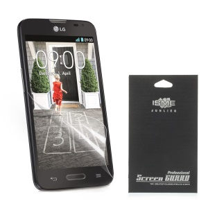 For LG L70 D320 Super Clear HD LCD Screen Protector (with Black Package)