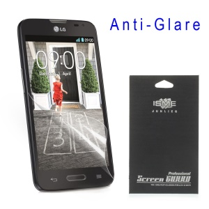 For LG L70 D320 Anti-glare Matte LCD Screen Guard Film (with Black Package)