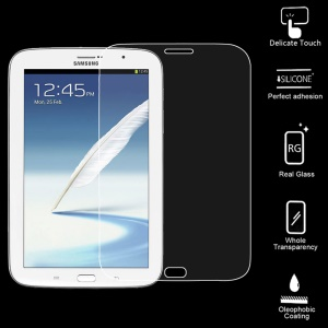 Smooth Clear 0.6mm Tempered Glass Screen Protector for Samsung Galaxy Note 8.0 N5110 N5100