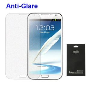 Premium Anti-Glare Matte Screen Protector Cover Shield for Samsung Galaxy Note 2 / II N7100