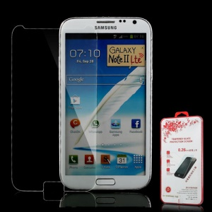 Explosion-proof Tempered Glass Screen Cover Shield Protector for Samsung Galaxy Note II N7100
