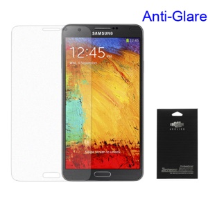 Anti-glare Frosted Screen Protector for Samsung Galaxy Note 3 N9000 N9005 N9002 (with Package)