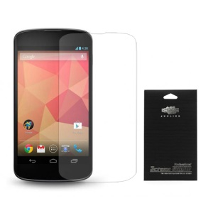 For LG Google Nexus 5 D821 Clear LCD Screen Protector (with Black Package)