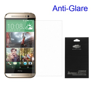 For HTC One M8 Anti-glare Screen Protector Guard Film (with Black Package)