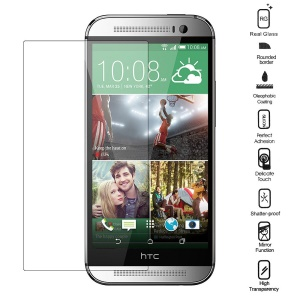 0.3mm Explosion-proof Tempered Glass Screen Protective Film for HTC One M8 (Straight Edge)