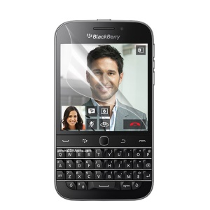 Clear LCD Screen Protector Film Cover for BlackBerry Classic Q20