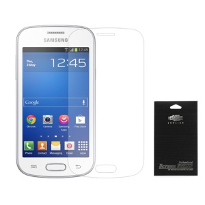 Clear LCD Screen Protector for Samsung Galaxy Trend Lite S7390 S7392 (with Black Package)