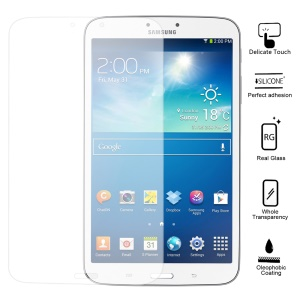 Smooth Clear 0.6mm Tempered Glass Screen Protector for Samsung Galaxy Tab 3 8.0 T3100 (with Package)